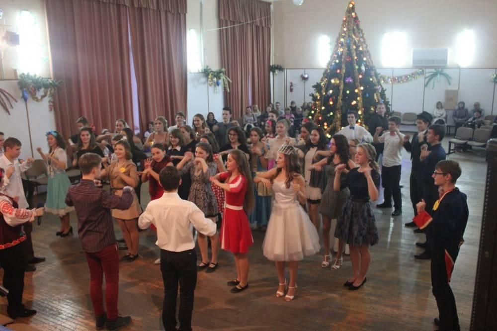 Новогодний карнавал в Феодосии