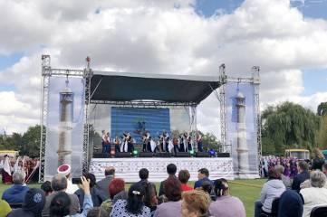В Симферопольском районе крымские татары отметили начало осени