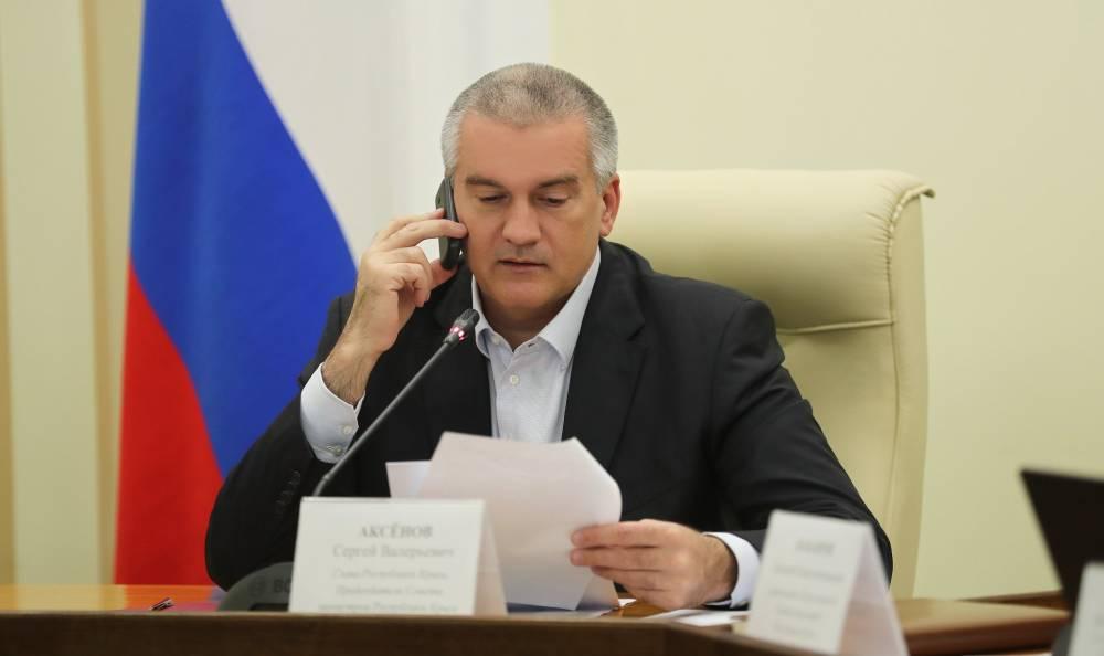 Аксенов: разделение должностей главы и премьера Крыма если и будет, то номинальное