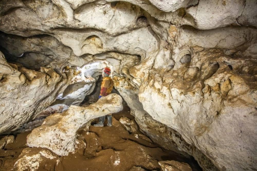 В Крыму нашли исторический вход в пещеру «Таврида»