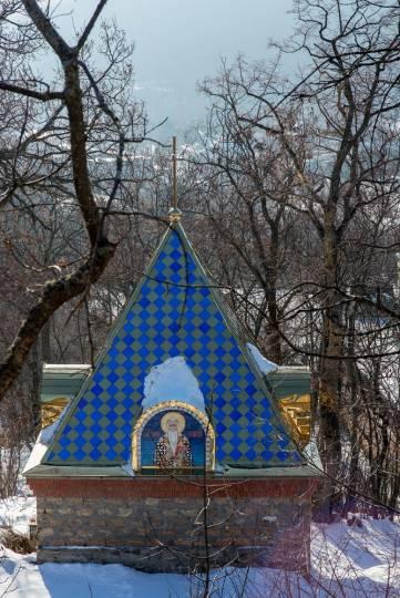 Зимняя феодосийская Краснокаменка. Фоторепортаж Вадима Стрельцова
