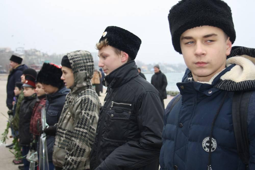 75-й годовщине Керченско-Феодосийского десанта посвящается...