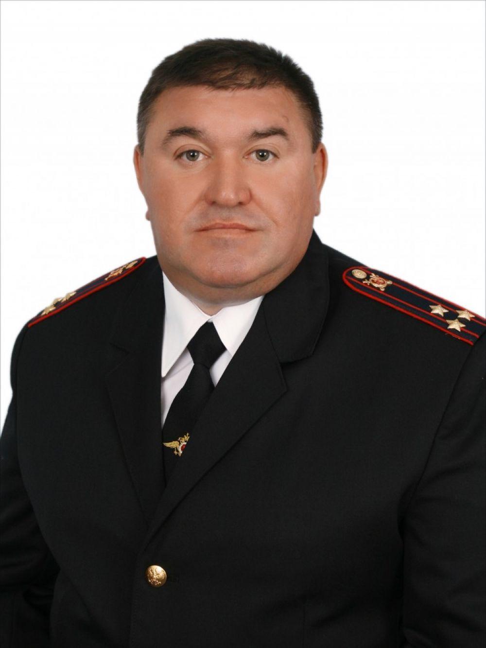 Поздравление начальника феодосийской полиции