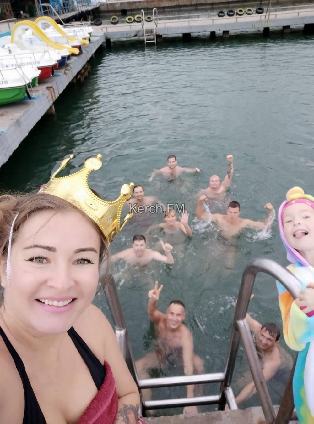 Керченские моржи открыли сезон