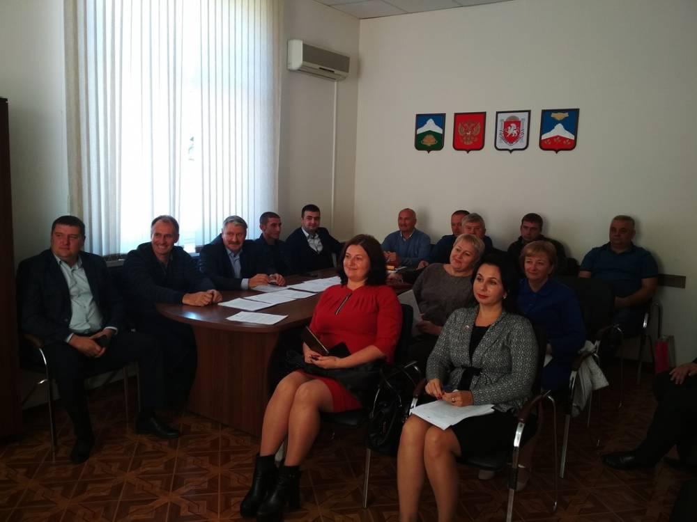 Внеочередная сессия Белогорского городского совета II-го созыва