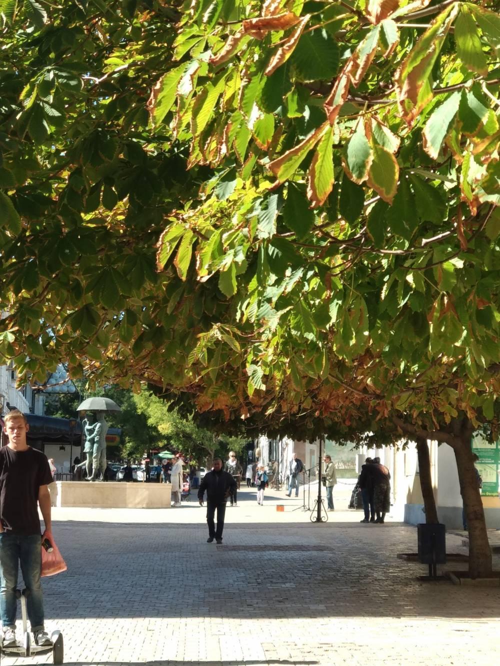 Узкими улочками Феодосии идёт осень - Феосети