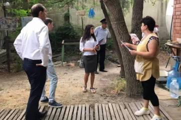В пгт.Коктебель за период курортного сезона выявлено и затампонировано 24 незаконные врезки в систему ливневой канализации