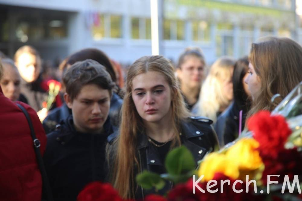 В керченском политехе почтили память погибших