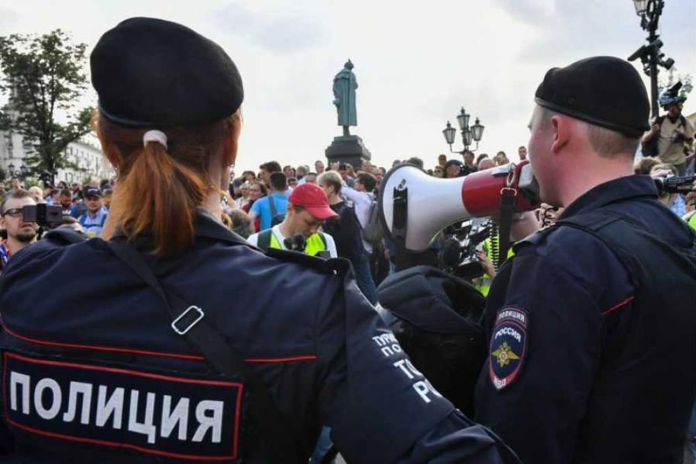 Полиции разрешили объявлять россиянам предостережения