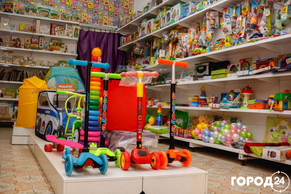 Магазин игрушек «Кнопочка»