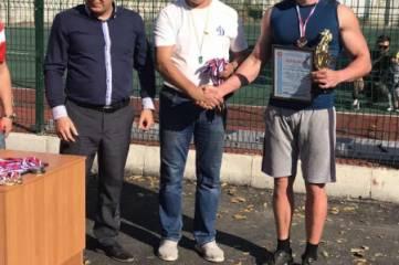 Бронзовые призеры по перетягиванию каната среди коллективов физической культуры органов безопасности