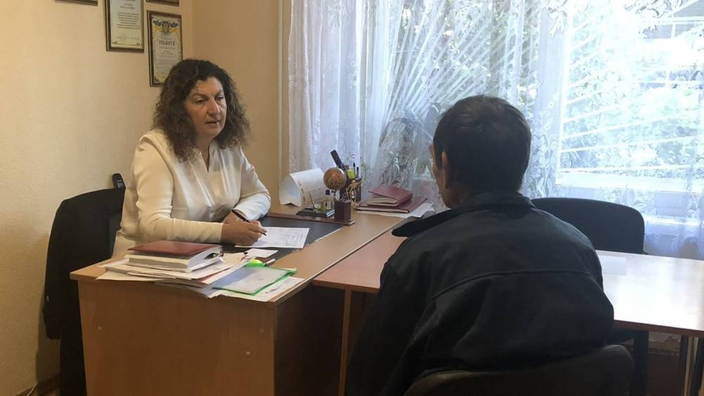 Жанна Кислица провела  приём граждан