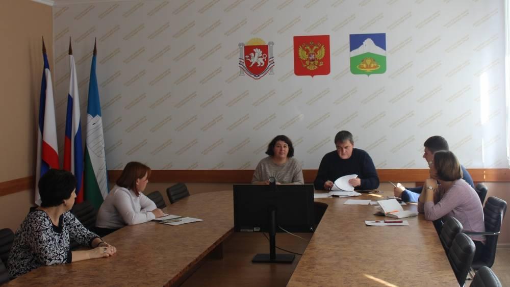 Ленара Джелялова провела заседание комиссии по повышению устойчивости функционирования объектов экономики Белогорского района