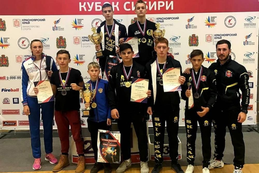 Восемь медалей завоевали крымские кикбоксеры на соревнованиях в Красноярске!