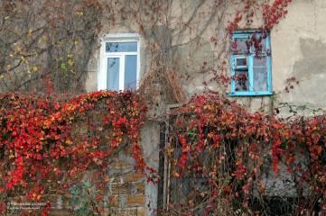 Старый город провожает осень