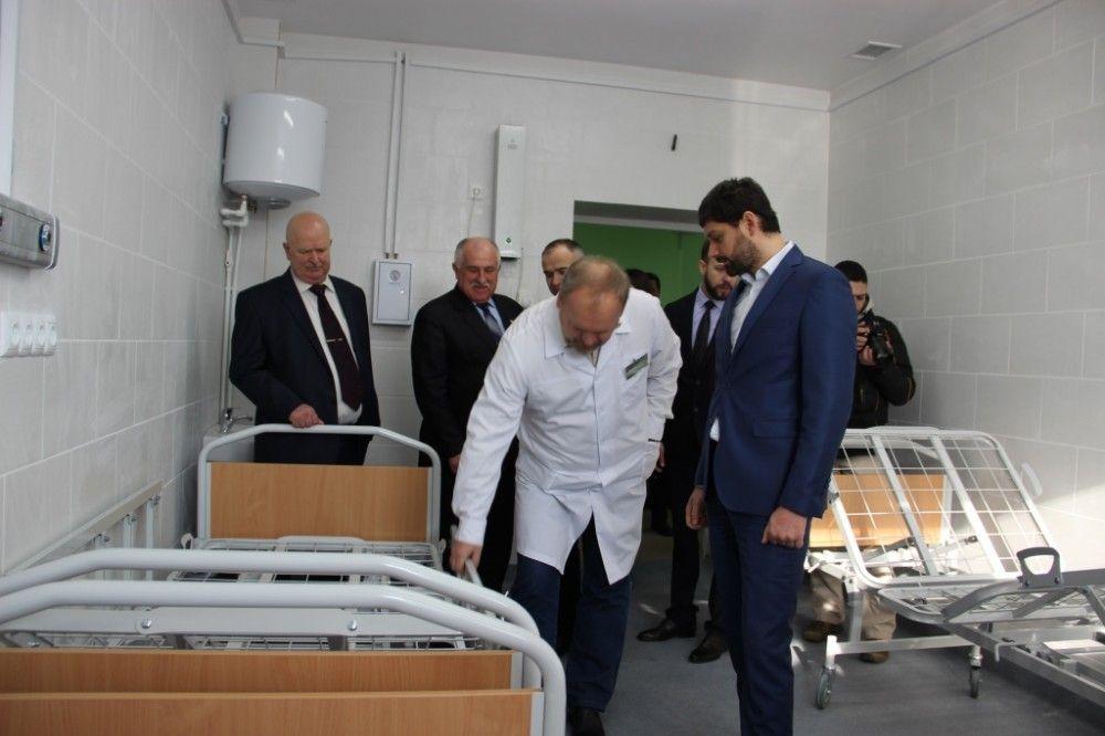 В феодосийской горбольнице отремонтировали хирургическое отделение