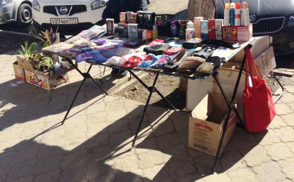 В Феодосии уличные торговцы рыбой, цветами и текстилем понесут админнаказание