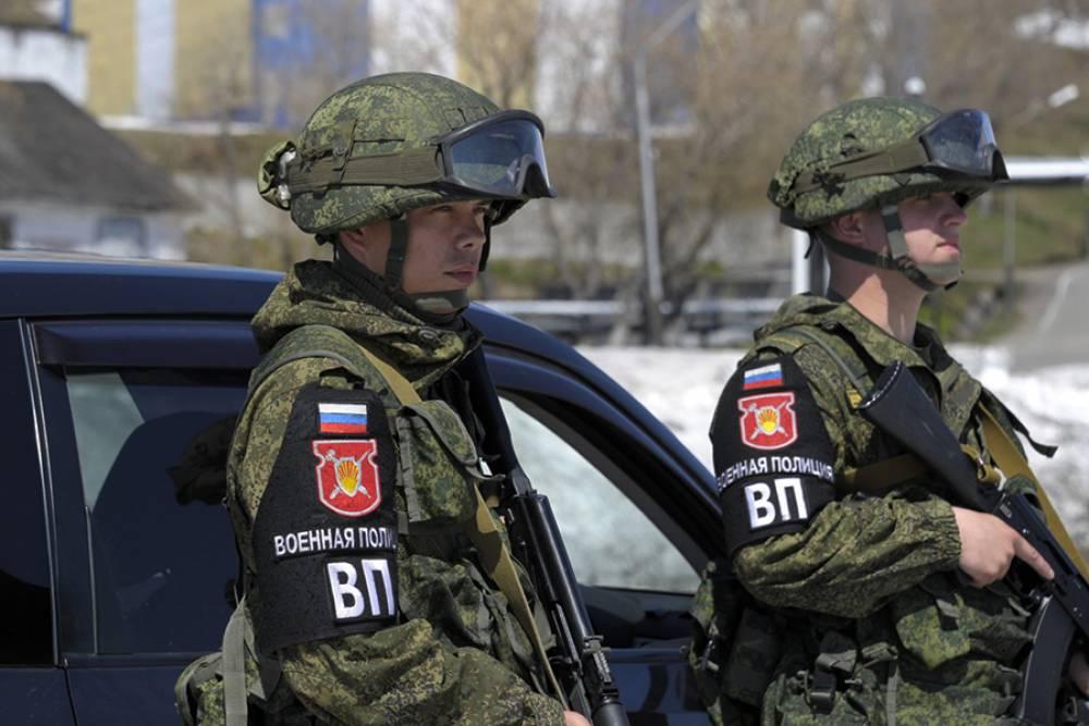Военнослужащие из Феодосии предварительно показывают лучший результат в конкурсе «Страж порядка»