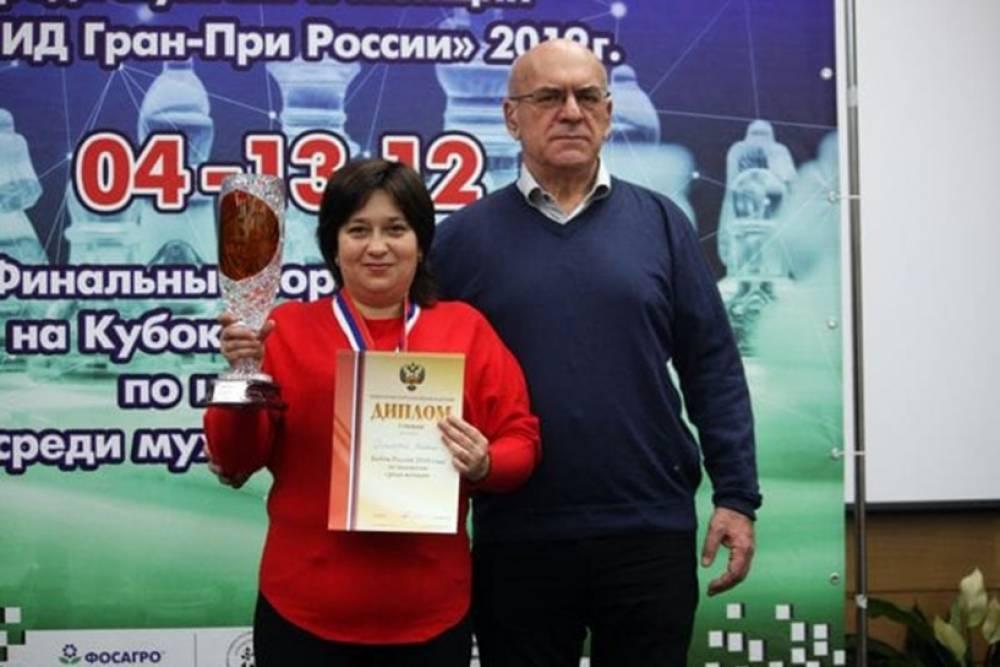 Оксана Грицаева из Феодосии выиграла Кубок России по шахматам среди женщин
