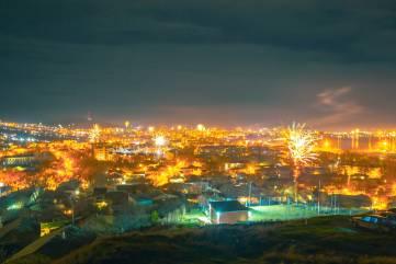 Новогодний салют 2020 - Феодосия
