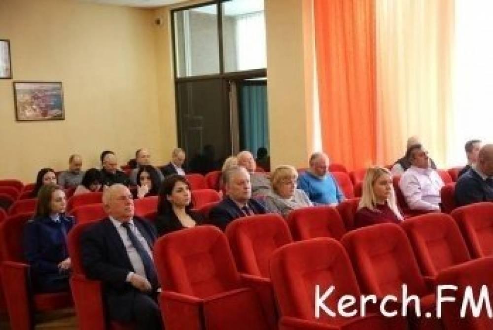 В среду депутаты Керчи соберутся на внеочередную сессию