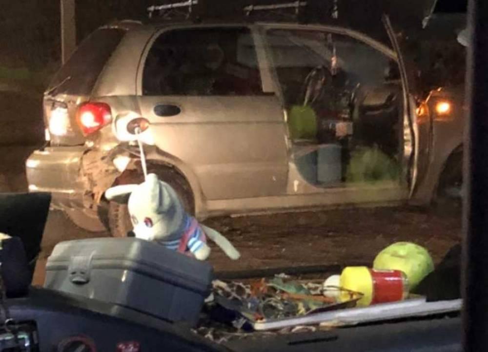 Пассажиры двух авто в Севастополе отправились в больницу после ДТП