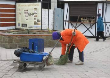 Жители Феодосии считают, что город плохо убирают