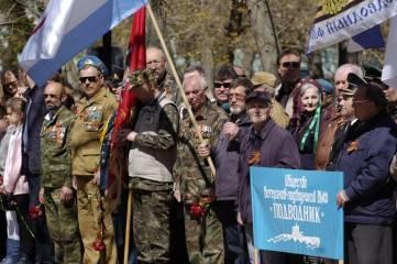 В Феодосии отпраздновали 73-ю годовщину освобождения