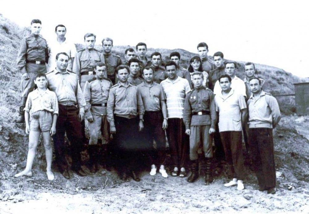 Гагарин в Феодосии