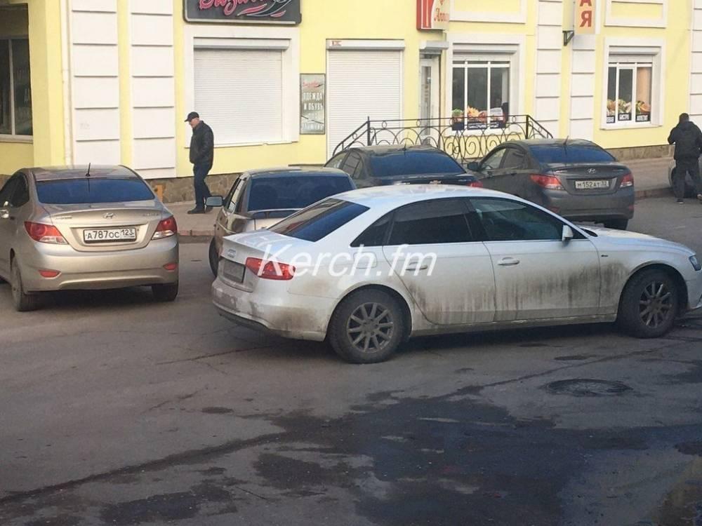 На Пролетарской столкнулись «ВАЗ» и «Audi»