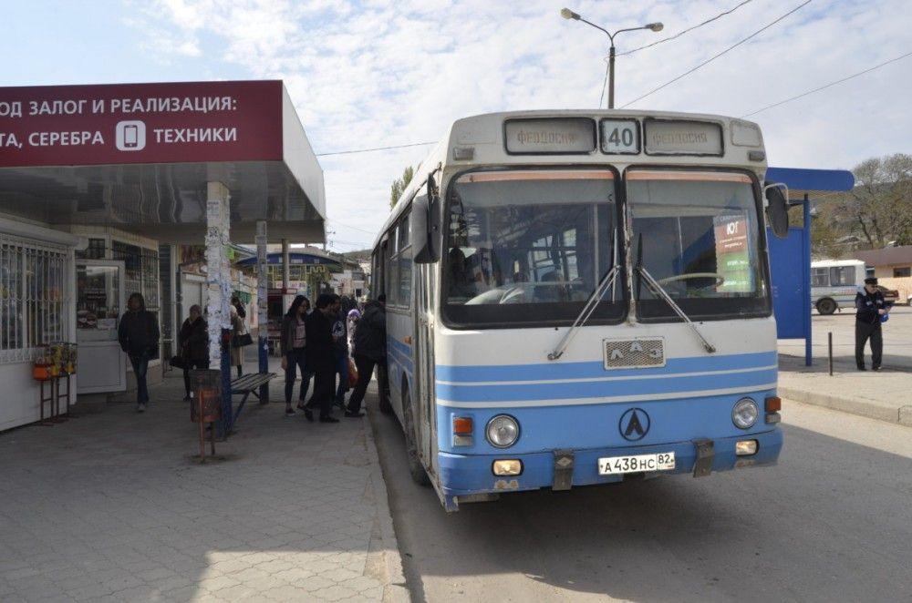 Транспортный отдел  внес изменения в расписание феодосийской маршрутки № 40
