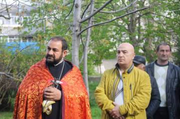 Армяне Феодосии почтили память жертв геноцида
