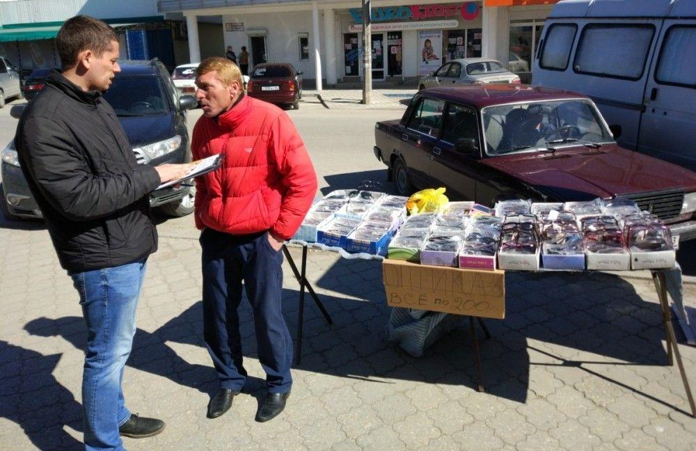 Феодосийские стихийщики рискуют «попасть» на 30 тысяч рублей штрафа