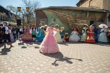 Курортный сезон в Феодосии открыли празднованием путешествия Екатерины II