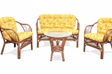Плетеная мебель изящна во все времена