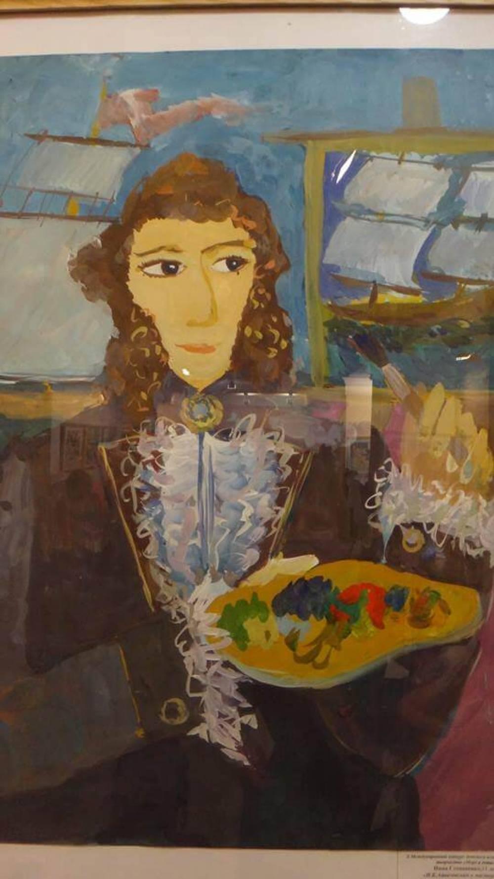Более сотни юных художников со всей России съехались на открытие выставки «Море и дети» в Феодосии