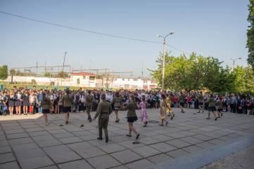 В школах Феодосии прошли линейки, посвященные 9 мая