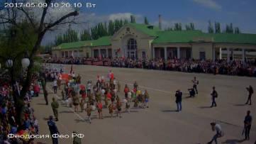 Бессмертный полк и митинг
