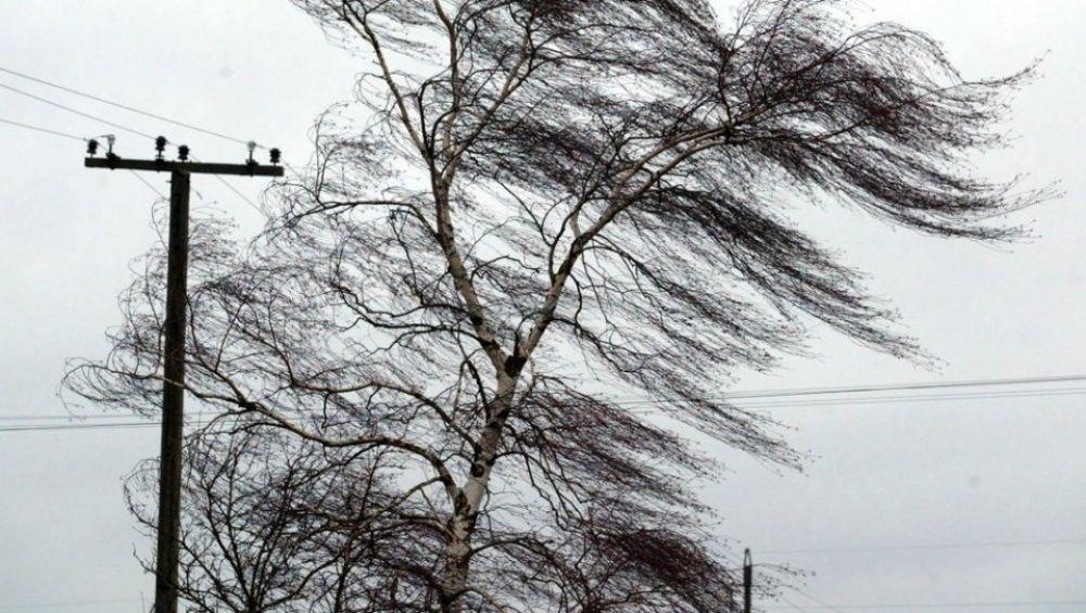 Шквальный ветер принесет в Крым ливни и град