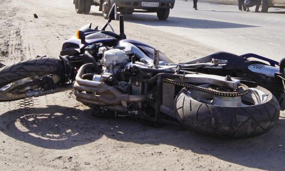 Мотосезон: в Феодосии в очередном ДТП пострадал мотоциклист