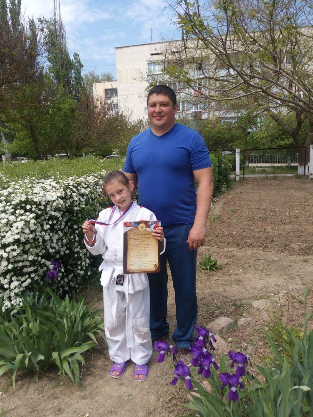 Юная спортсменка из Приморского стала призеркой