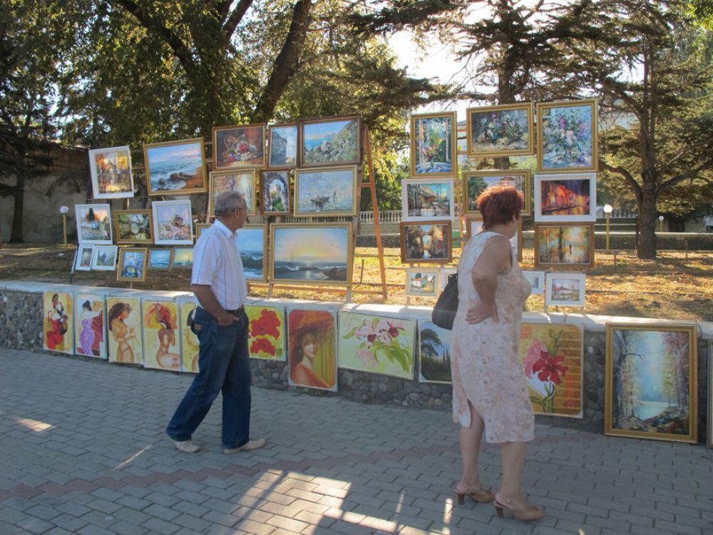 Власти Феодосии определились с местами для художников