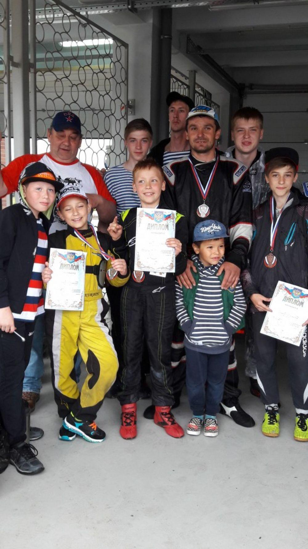 Феодосийские пилоты «Формулы-1» заняли третье командное место