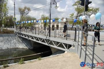 Феодосийский мост через Байбугу представили после реконструкции