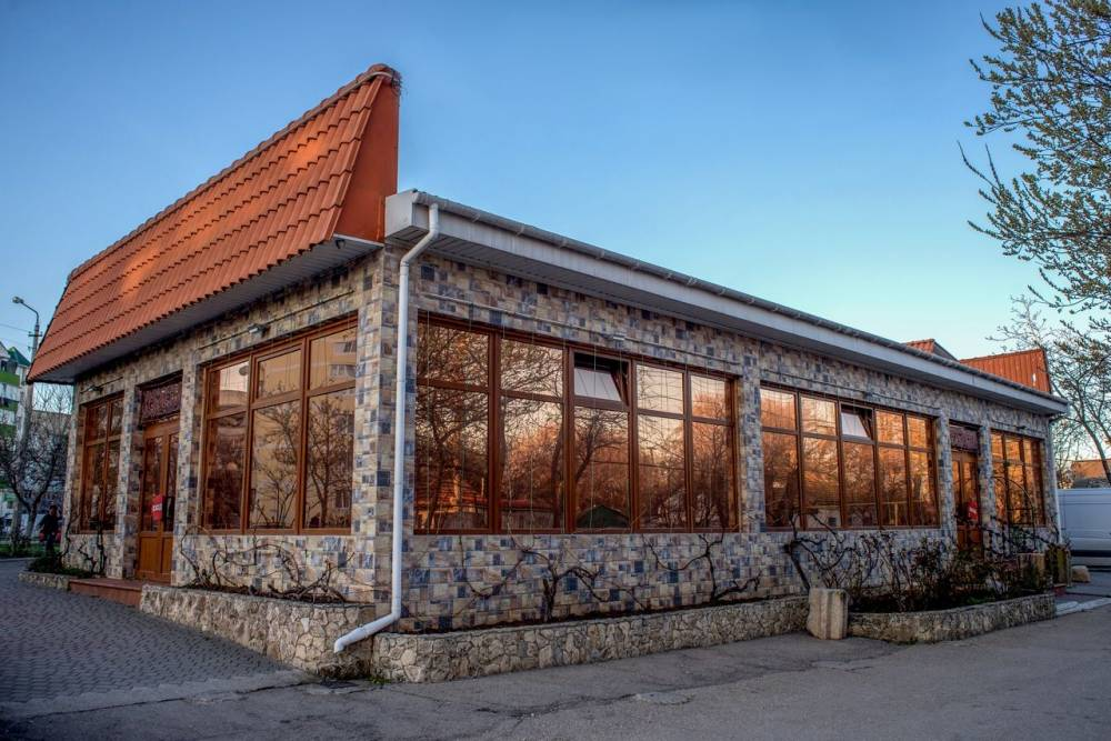 фасад, блюдо из мяса, шашлык