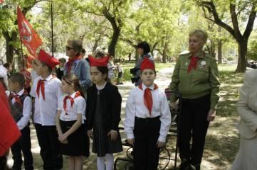 Федосийские пионеры отметили свой праздник