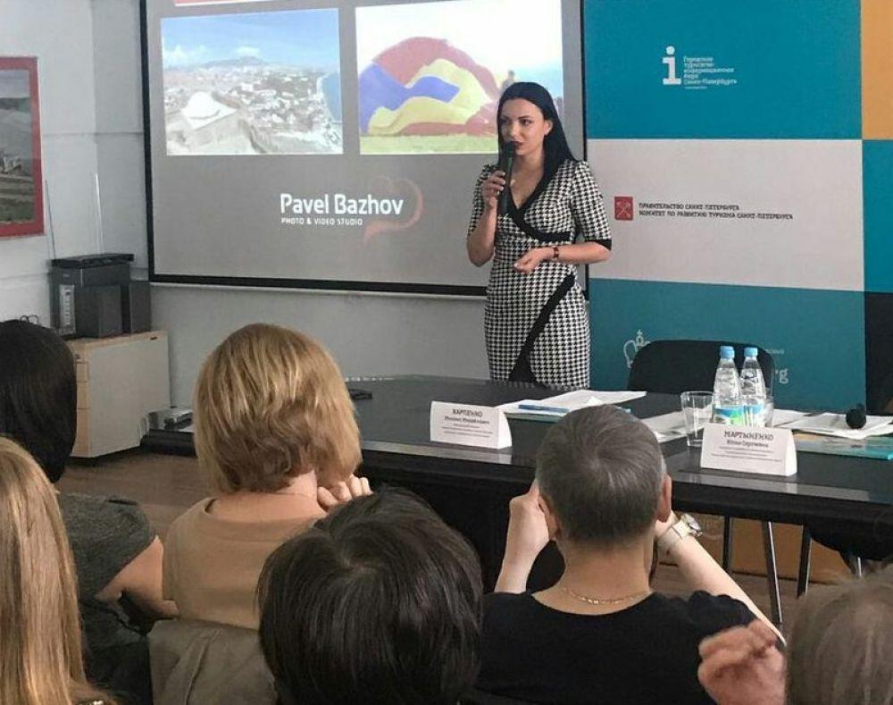 Туристический потенциал Феодосии презентовали в Санкт-Петербурге