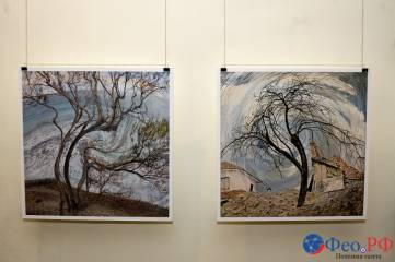 Греция глазами москвича А.Гусева на фотовыставке в Феодосии. Фоторепортаж