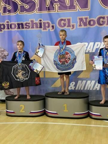 В Крым привезли три золотых медали с открытого чемпионата AGML России
