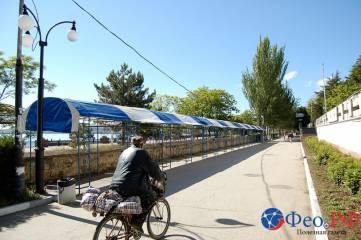 На проспект Айвазовского в Феодосии начали возвращать торговый ряд